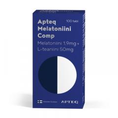 Apteq Melatoniini Comp 1,9 mg 100 tabl