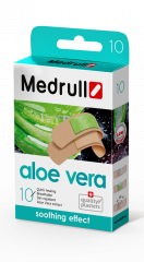 Medrull Aloe Vera antibakteer. laastari  10 kpl