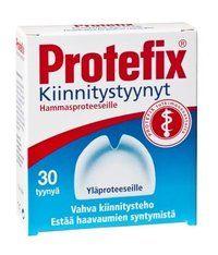 PROTEFIX KIINNITYSTYYNYT YLÄPROTEESILLE X30 KPL